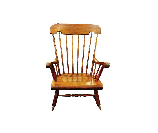 Vintage Maplewood Rocking Chair