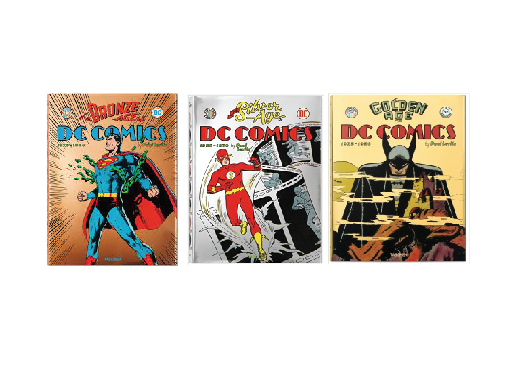 DC Comics Gold, Silver, and Bronze Book Series