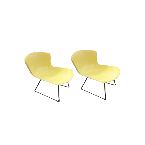 Pair of Rare Bertoia Chairs