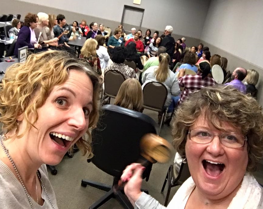 Great time drumming with the New Jersey Activity Professionals Association  at their Fall Forum. Activity Directors rock!