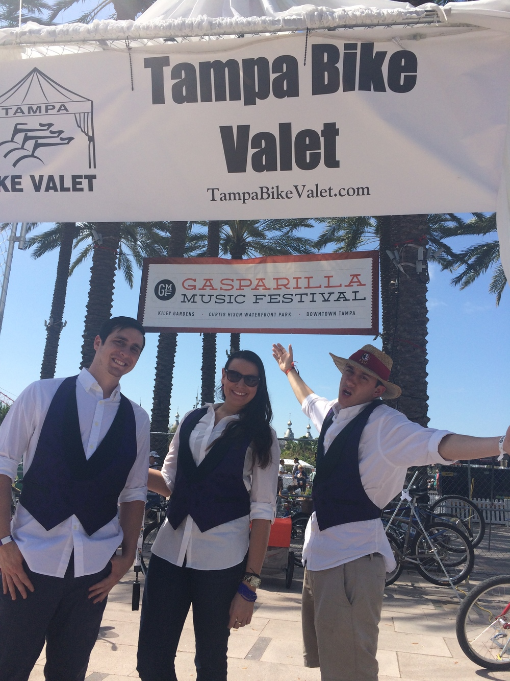 JOIN OUR TEAM OF BIKE VALETS