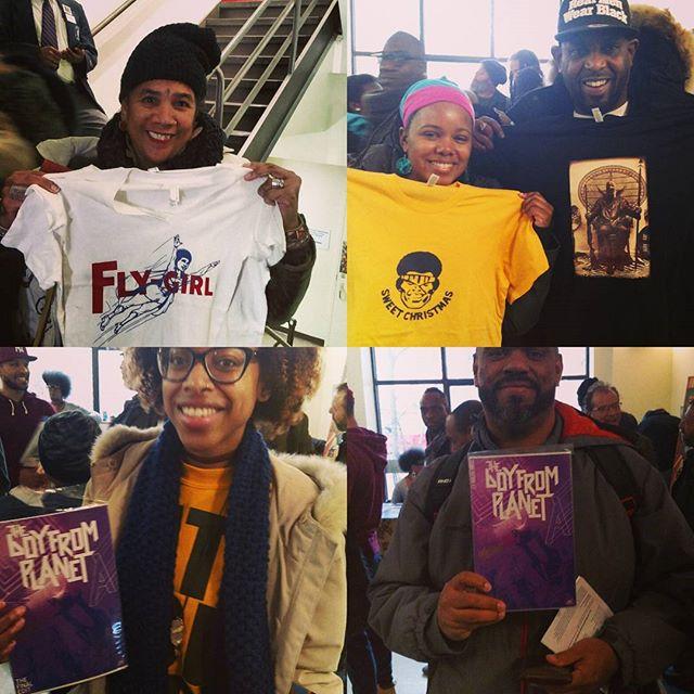 #BlackComicBookFestNYC 2017 #NukleusComics© #nukleuscomics
