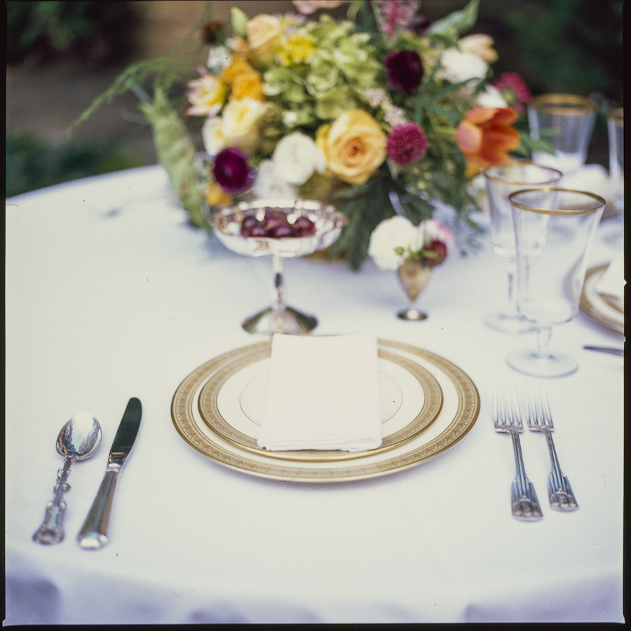 Rosegolden Flowers / T. Scott Carlisle Photography / Ginny Styling