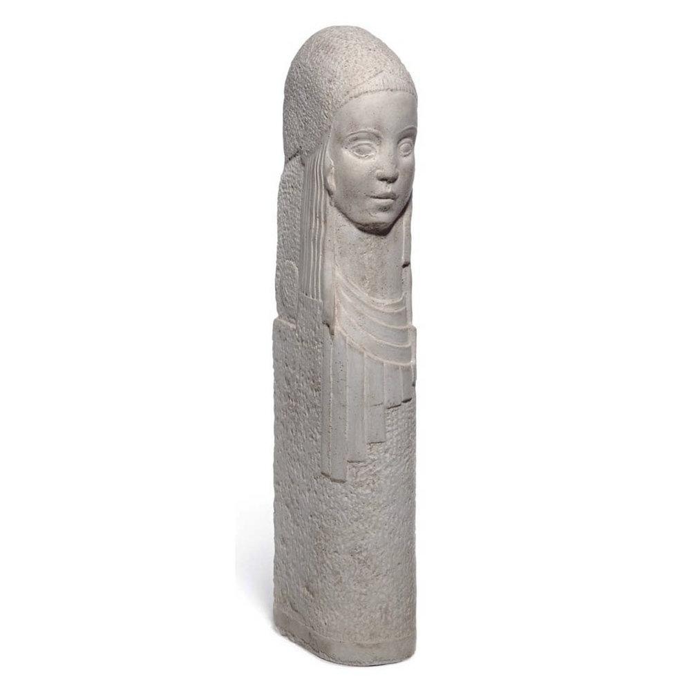 Art Deco Bust of a Woman by Bernard Callie