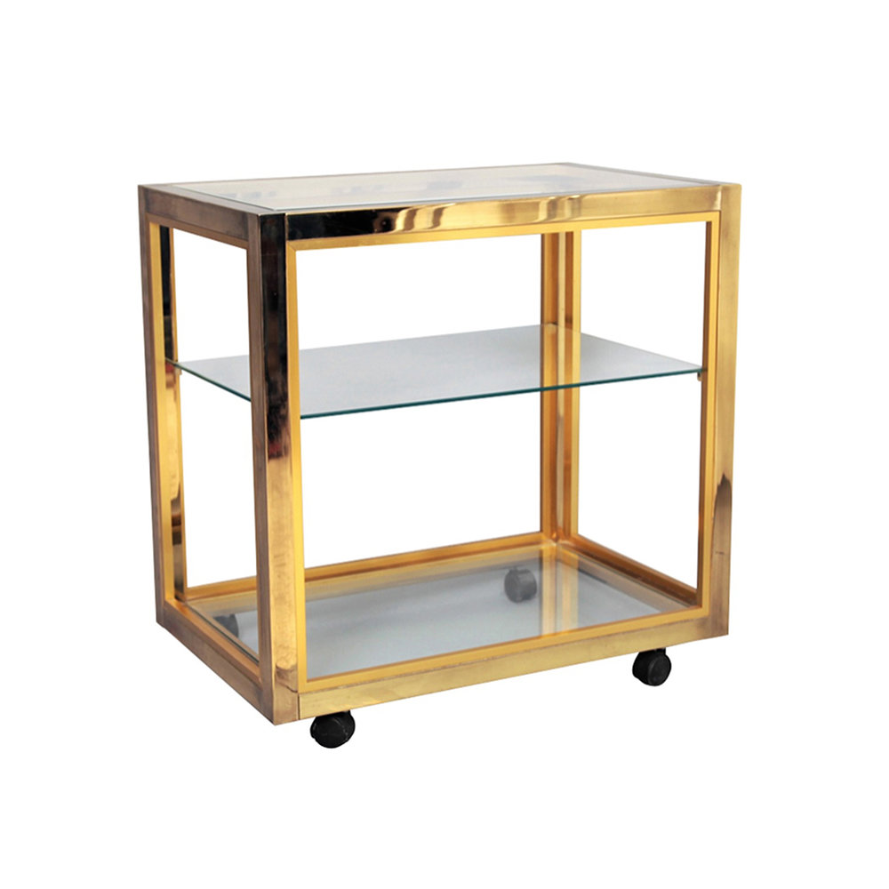 Zevi Brass Cart