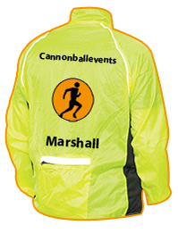 RACE MARSHALL Volunteer Cannonball Running in Lancashire