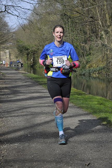 Helen James 2015 ladies 75km Winner