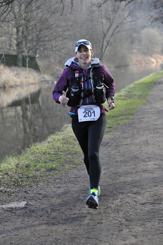Sarah Whittington 2015 100KM ladies winner