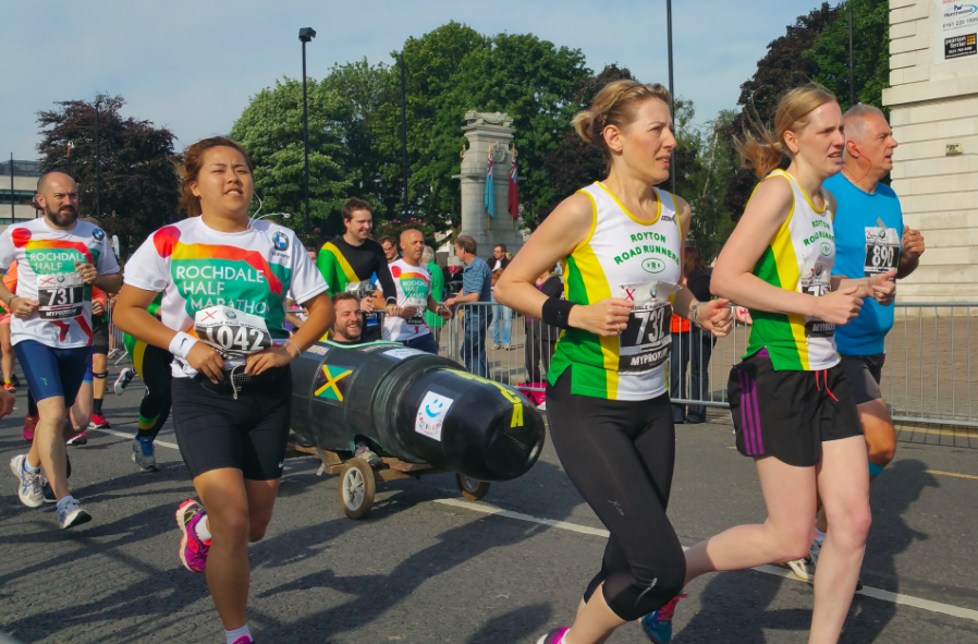Some of the runners in the 2015 race.