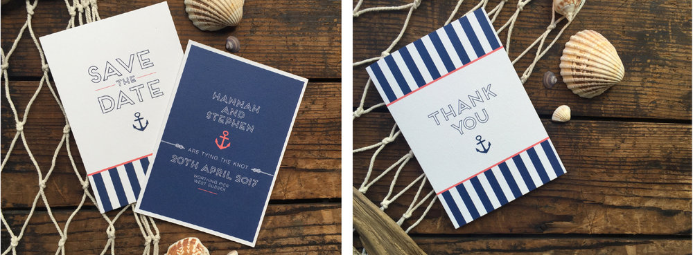 Save the date & thank you cards
