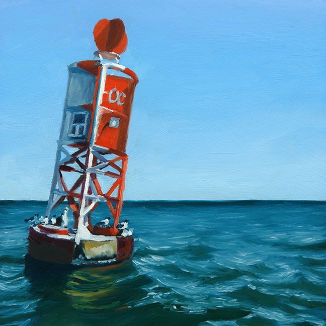 """Sea Buoy"" - Sold"