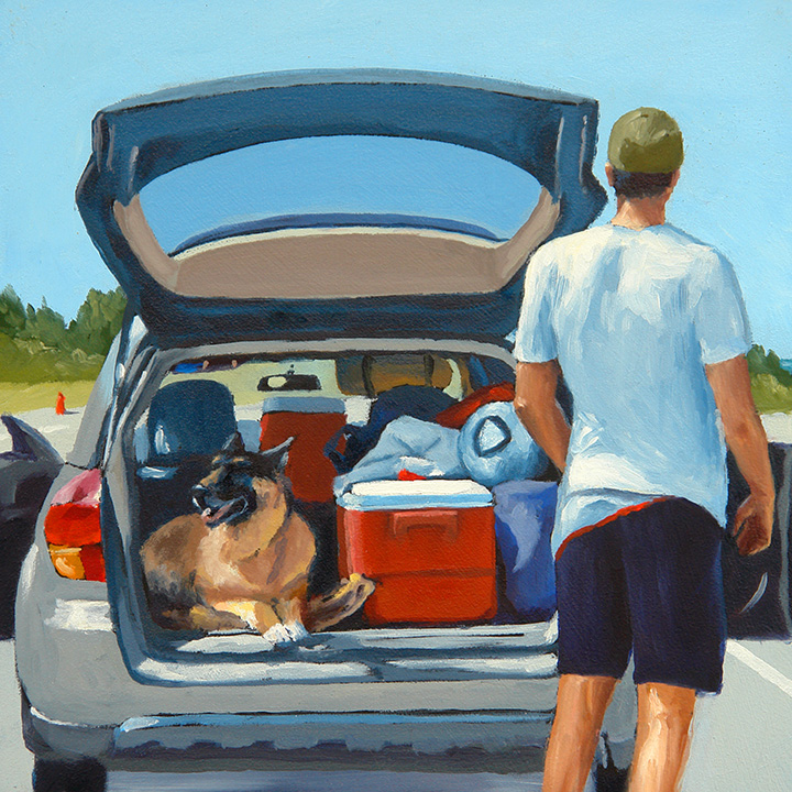 """Dog Days"" - Sold"