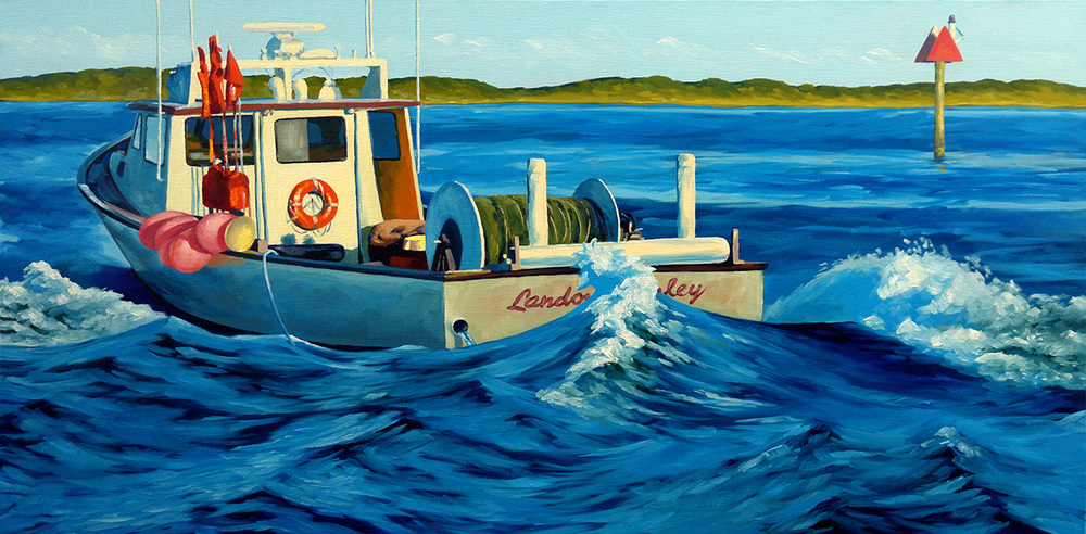 """Hatteras Bound"" - Sold"