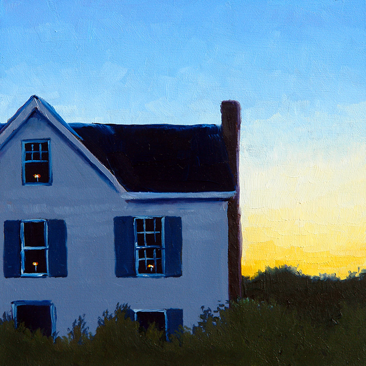 """Evening Light"" - Sold"