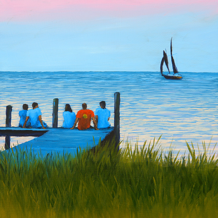 """Sunset Cruisers"" - Sold"