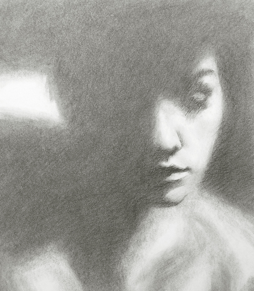 11x14 Charcoal - from reference photography by Ryan Muirhead