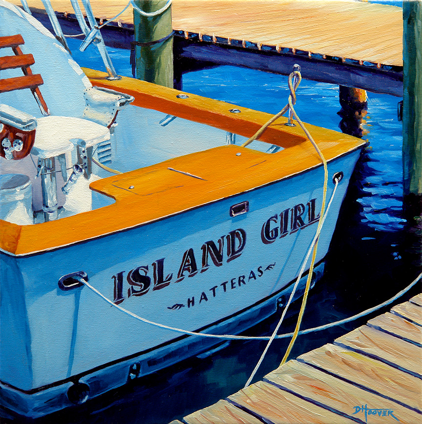 """Island Girl"" - Sold"
