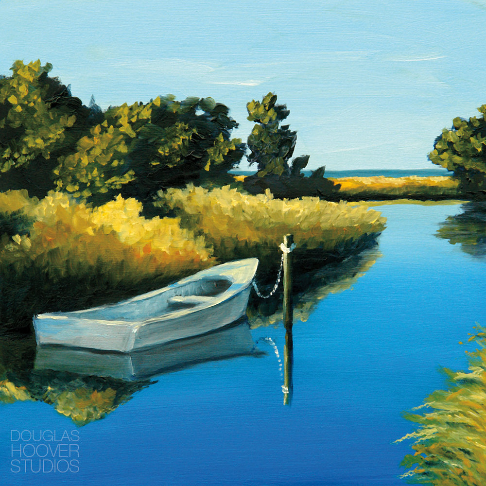 Beside The Still Waters | 6x6in. - SOLD