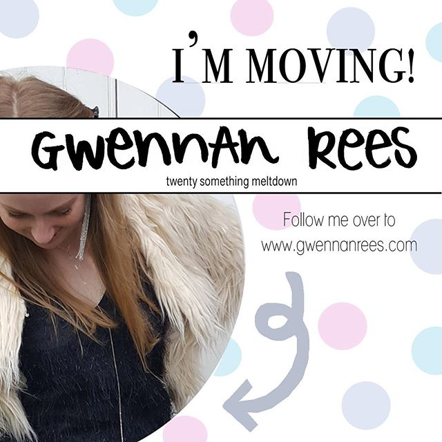 That's right friends, I'm off! ✈️ From now on you can find me over on my new website www.gwennanrees.com which encompasses all things illustration, blog and life and follow my updates via @gwennan_rees 💕