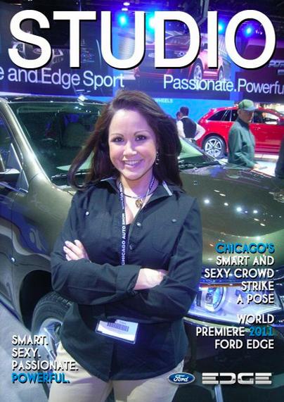 Chicago Auto Show - Representing FORD