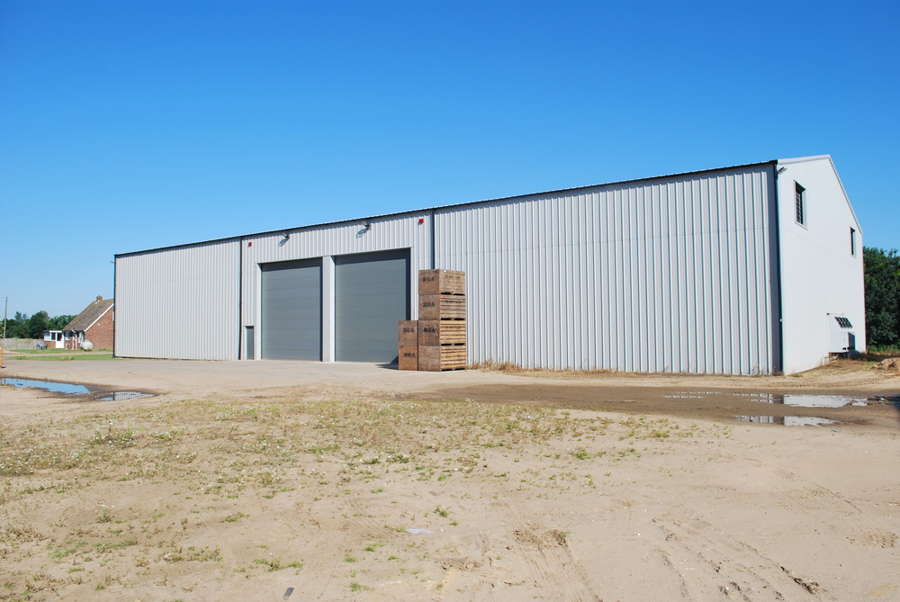 3000 Ton Refrigerated Box Potato Store