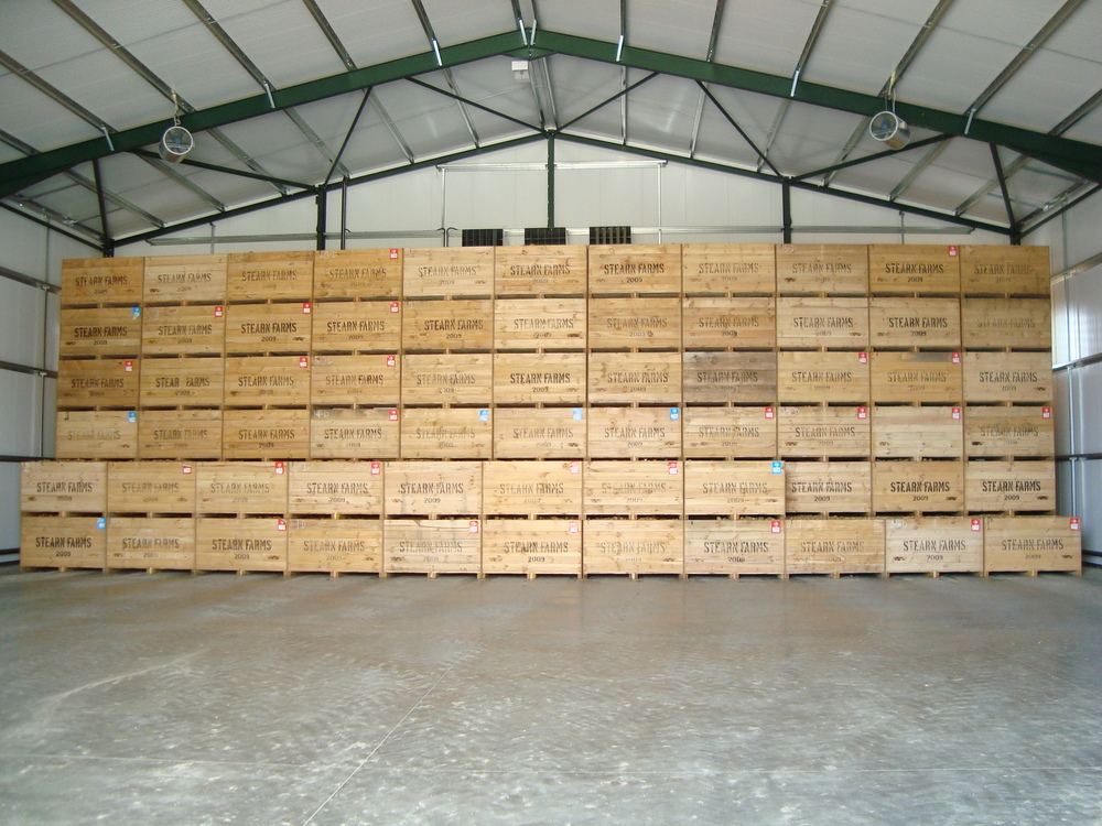 Refrigerated Box Potato Store