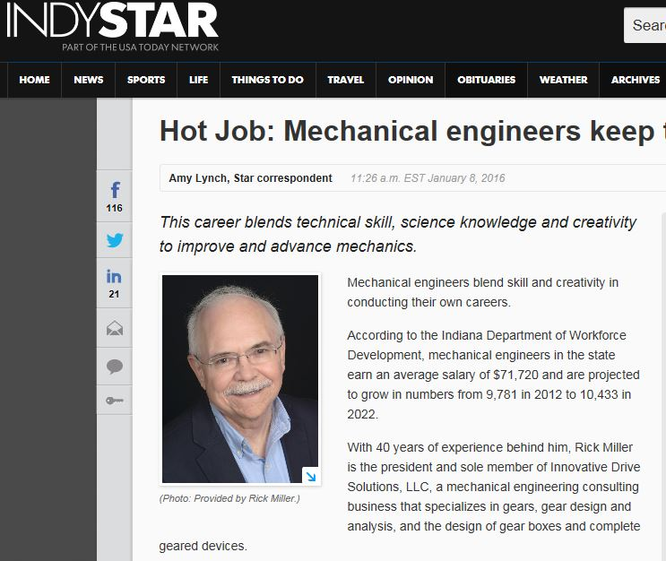 Indy Star hot jobs 1-8-16