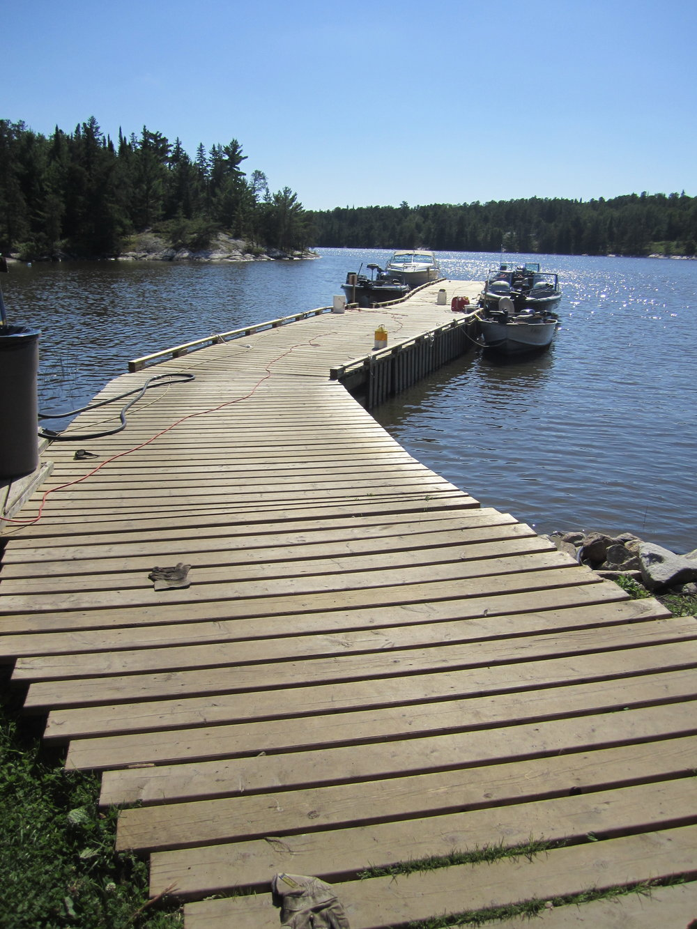 Remodel of main dock