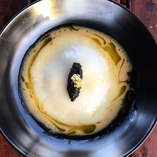 Reposted from @peja011 -  Steamed soft rice dumpling filled with caramel pork sitting in a caramelized pork and coconut water sauce ,topped with hackle back caviar  and finished with charred ginger infused novelo. . . . . . . . . . . . . . . . . . . . . . . . . #mothaibadallas #modernvietnamese #frenchvietnamese #picoftheday #instafood #chef #chefstalk #jamesbeard #dallas #dallasdining #makeitnice #chefsroll #fourmagazine #foodandwine #wintermenu #caviar #deliciousfood - #regrann