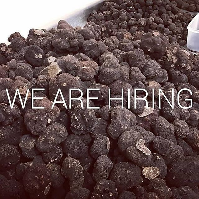 Now hiring full-time team members. Entry level position designed to prepare you for a career in the specialty food industry. Please apply on the link in our bio.