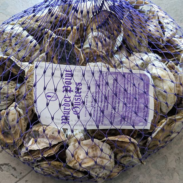 @murderpointoysterco are the pinncale of gulf oysters. We are lucky to have them as supply is extremely limited.
