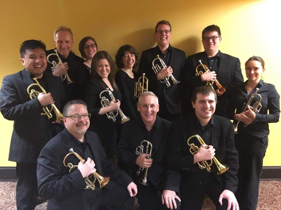Tallgrass Brass Band Cornet Section