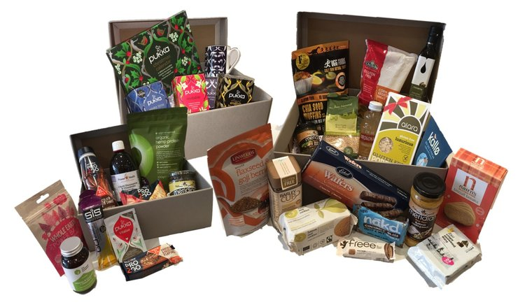 New products healthy hampers barannes health store coffee sports amp fitness tea lovers and large gluten free hampers left to right negle Choice Image