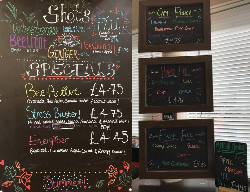 Colomberie & Broad Street Specials Boards