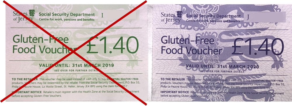 Green vouchers expire at the end of March 2019