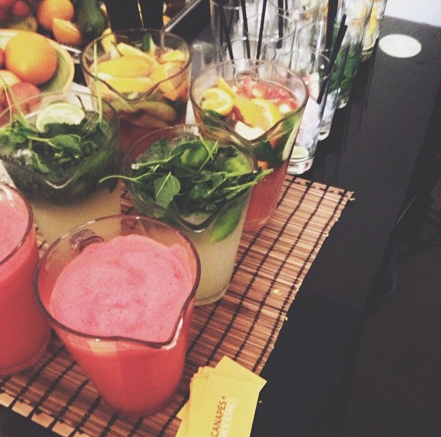 Mocktails for a private party