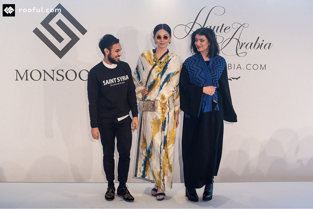 Waqas and Imogen at Haute Arabia    *Image by Rooful, for Haute Arabia*