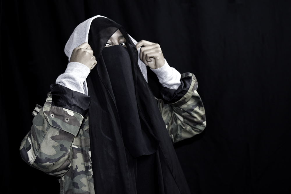 Hoody and Niqab