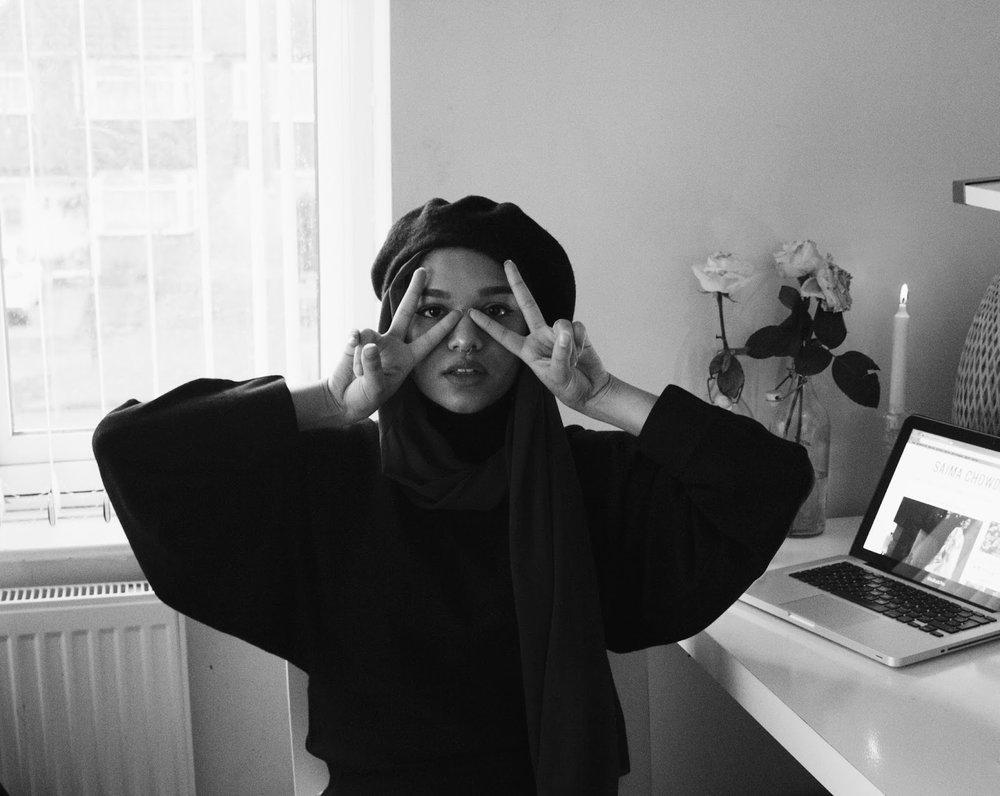 """Saima Chowdhury  """"A fashion photographer, youtuber and blogger from Birmingham, UK.""""   www.saimachowdhury.co.uk"""