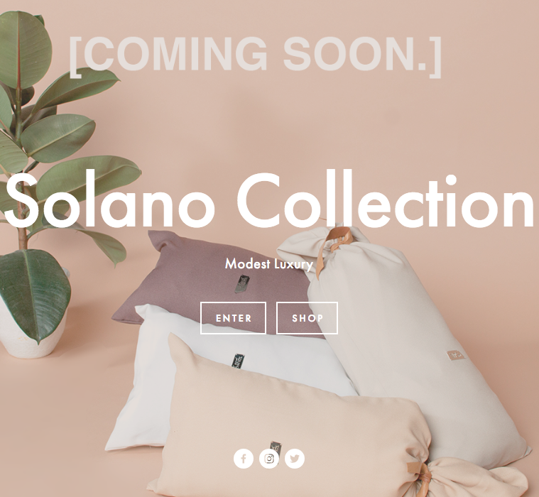 Solano Collection  - Modest Luxury brand from the UAE   www.solanocollection.com