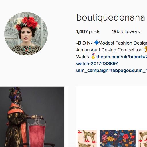 Boutique De Nana    instagram.com/boutiquedenana
