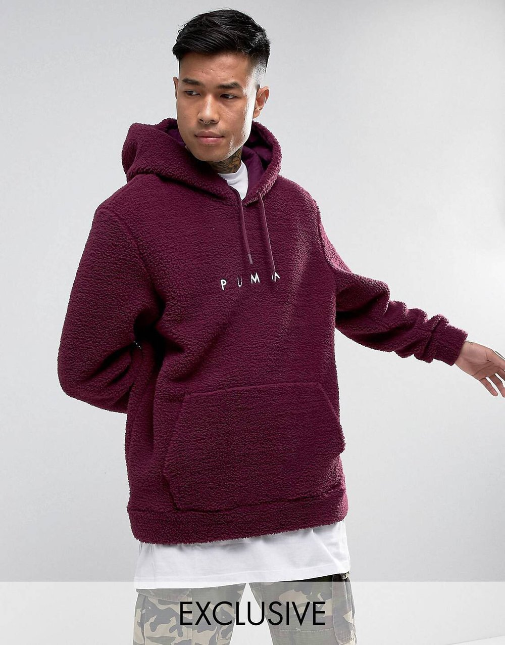 £60 - Puma Borg Hoodie - This looks like a hug and I'm ready to be engulfed in all it's goodness.
