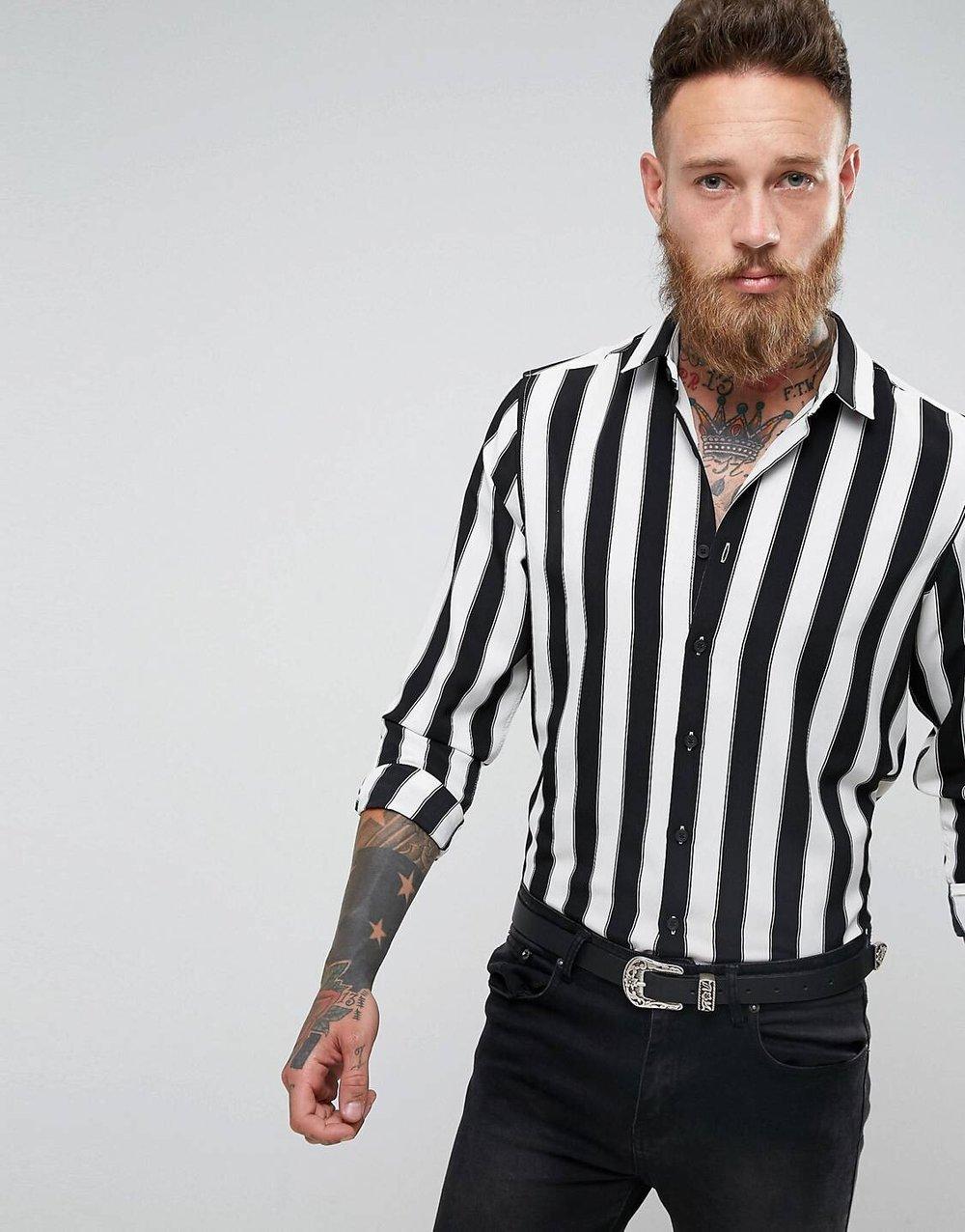 Â£25 ASOS Stripe - Ay yo, men section is as halal as it gets inni. I love me a good striped shirt.