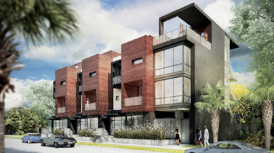 Vanguard Lofts Rendering