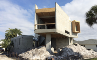 Construction Progress of Venice Beach Residence