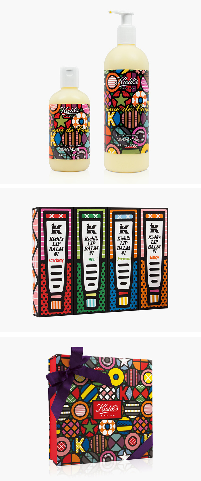 Kiehls pop art