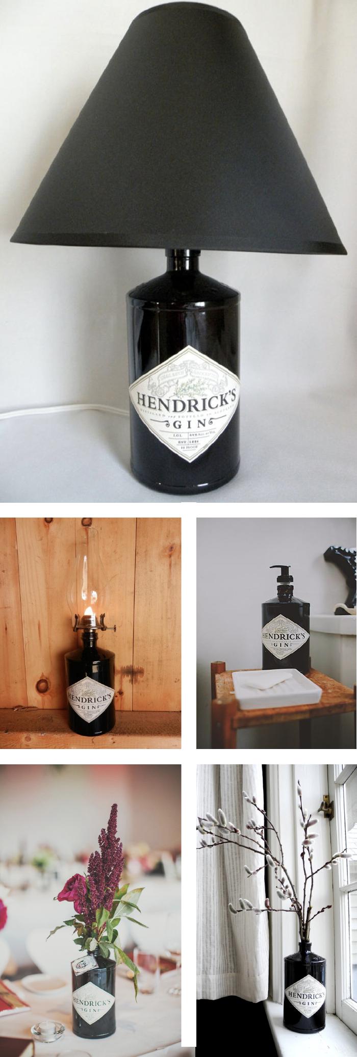 Hendrick's Gin reused