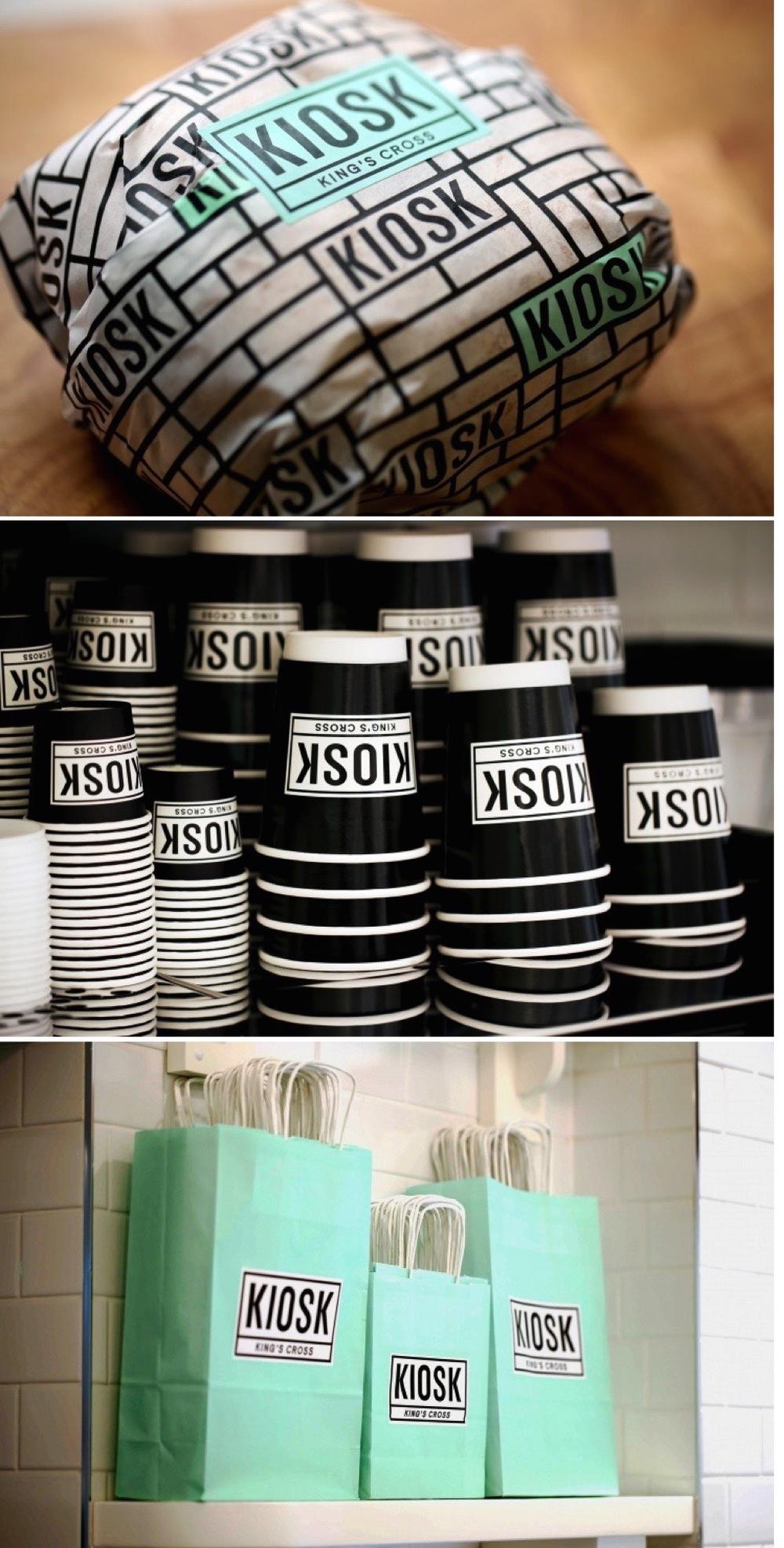 Kiosk packaging design