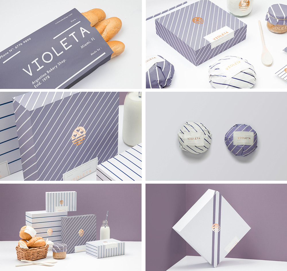 Violeta packaging at Förpackad
