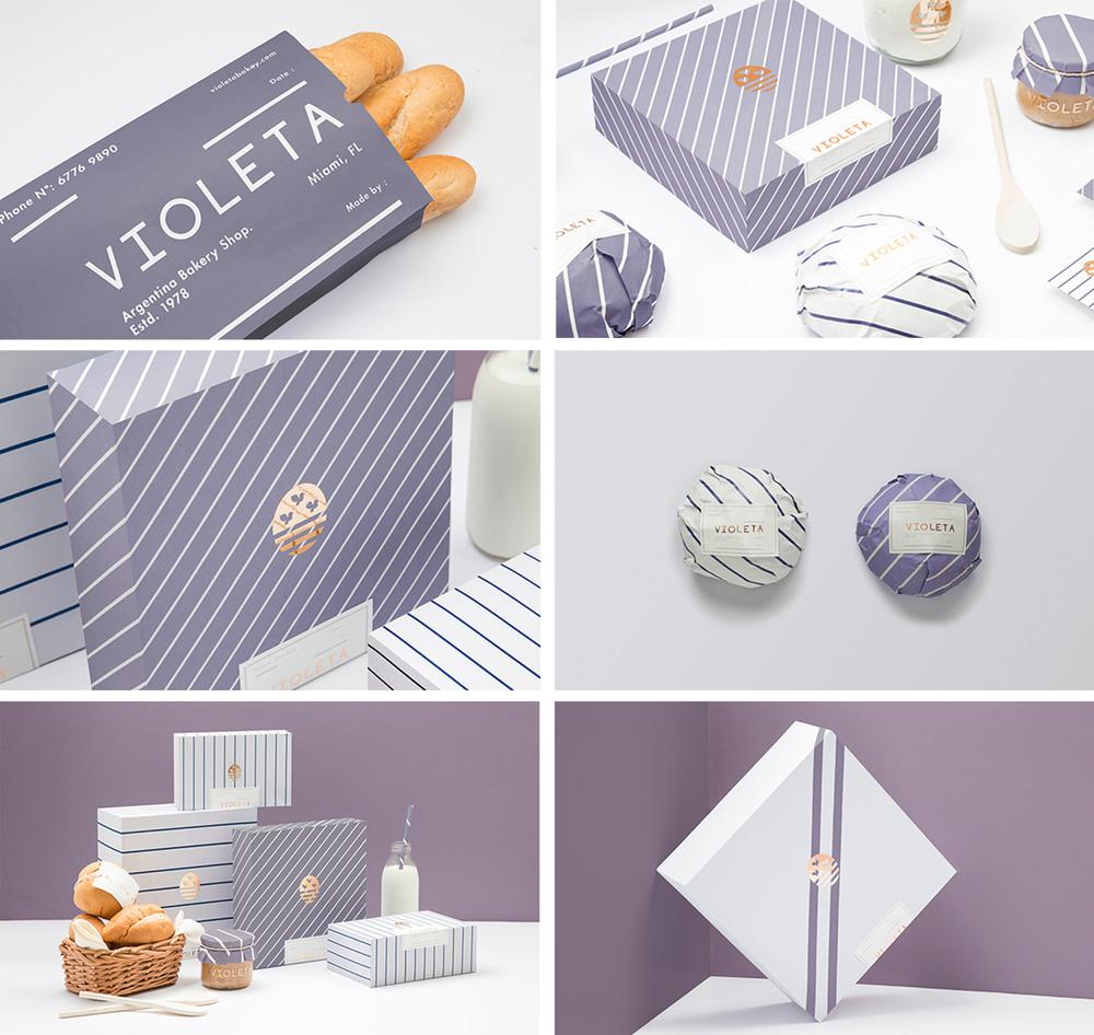 Violeta packaging at Förpackad